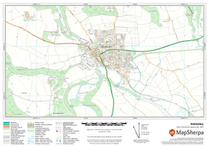 Helmsley UK Detailed Topographic Sample