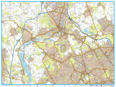 Print on Demand Product Update: A-Z 9 Sheets Master Plan and A-Z Street Maps