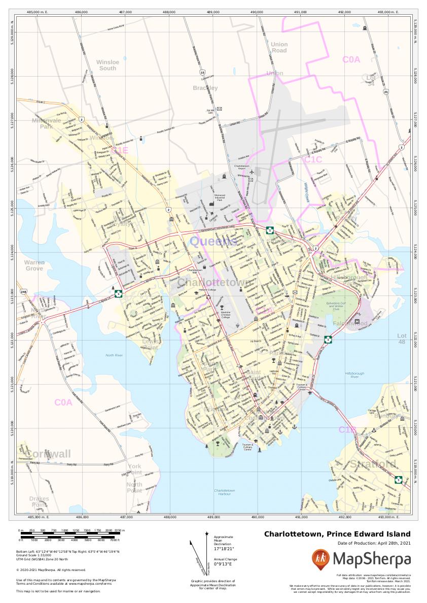 Charlottetown Sample Map