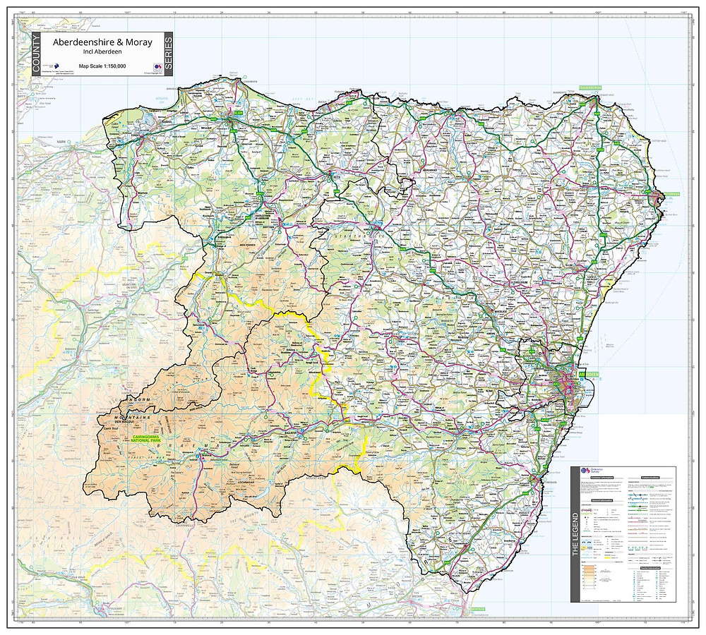 Aberdeenshire & Moray Sample Map