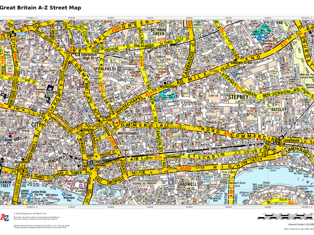 Product Update: Great Britain A-Z Street Map