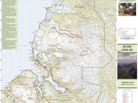 New Print on Demand Maps: GoTrekkers