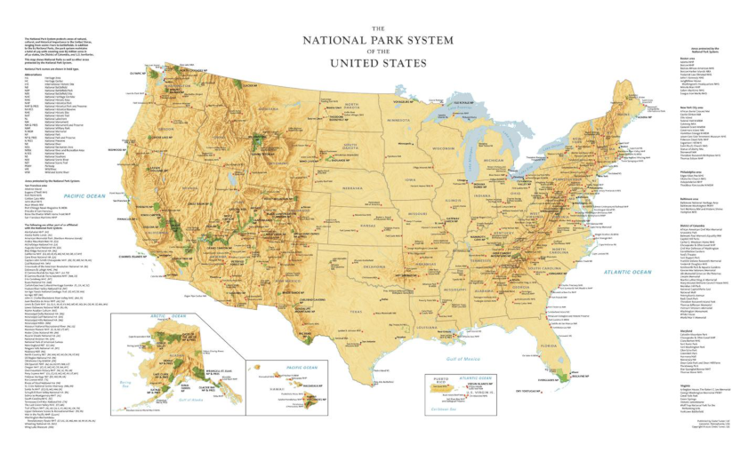 Globe Turner National Parks System Sample