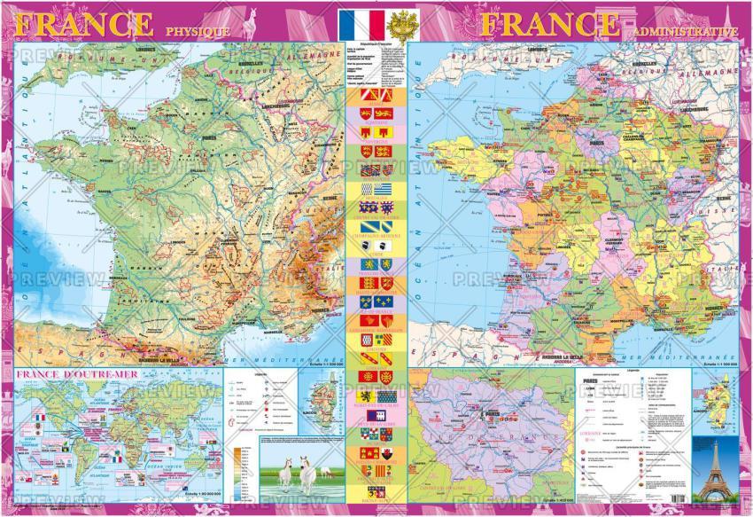 Kartographia France Map