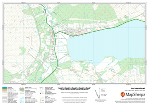 UK Detailed Topographic sample map