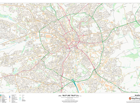 New Print on Demand Maps: UK Cities and Towns