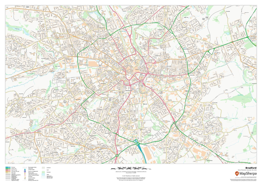 UK Towns Sample Map