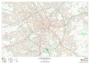 UK Towns Sample Map