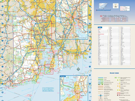 Print on Demand Product Updates: Eight Globe Turner State Maps