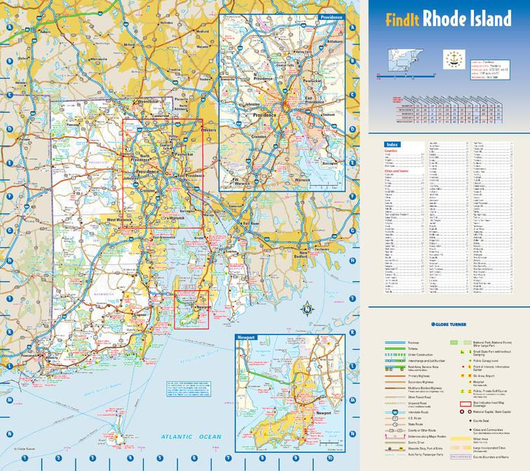 Rhode Island Sample Map