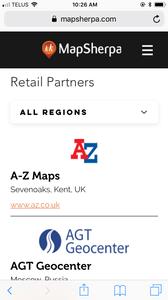 mapsherpa.com mobile example