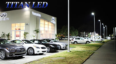 led lighting auto dealerships
