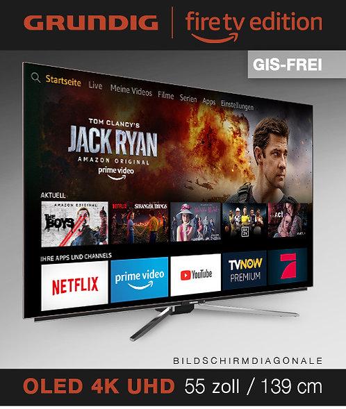 """Grundig 55"""" OLED Fire TV Edition GIS-FREI schwarz mit 2 Jahren Garantie"""