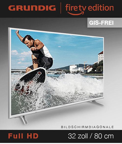 """Grundig Vision 6 - 32"""" Fire TV Edition GIS-FREI weiss mit 3 Jahren Garantie!"""