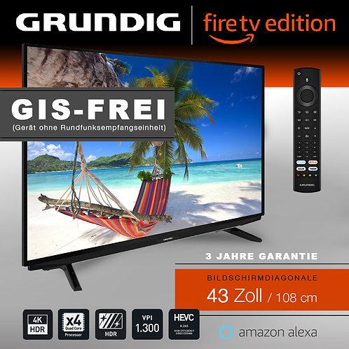 """Grundig Vision 7 - 43"""" Fire TV Edition GIS-FREI schwarz mit 3 Jahren Garantie"""