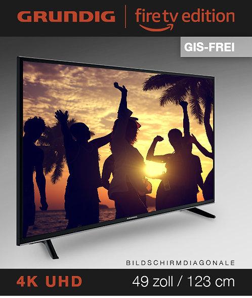 """Grundig Vision 7 - 49"""" Fire TV Edition GIS-FREI schwarz mit 3 Jahren Garantie!"""