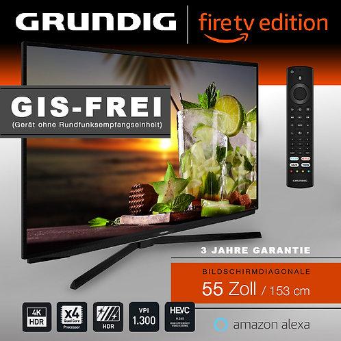 """Grundig Vision 7 - 55"""" Fire TV Edition GIS-FREI schwarz mit 3 Jahren Garantie"""