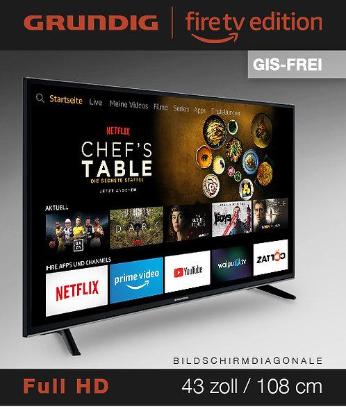 """Grundig Vision 7 - 43"""" Fire TV Edition GIS-FREI schwarz mit 3 Jahren Garantie!"""