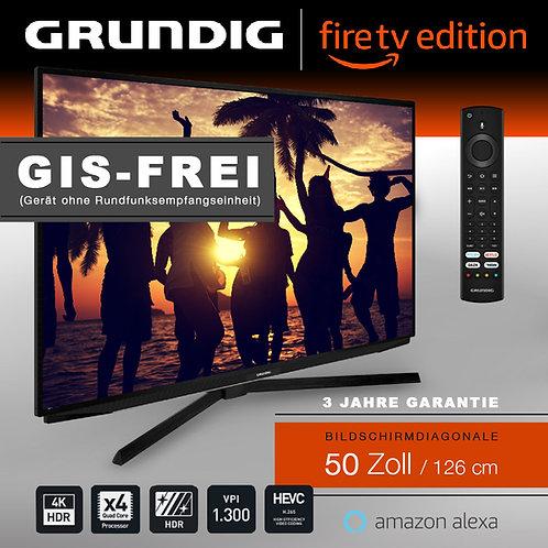 """Grundig Vision 7 - 50"""" Fire TV Edition GIS-FREI schwarz mit 3 Jahren Garantie"""