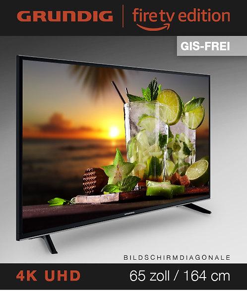 """Grundig Vision 7 - 65"""" Fire TV Edition GIS-FREI schwarz mit 2 Jahren Garantie"""