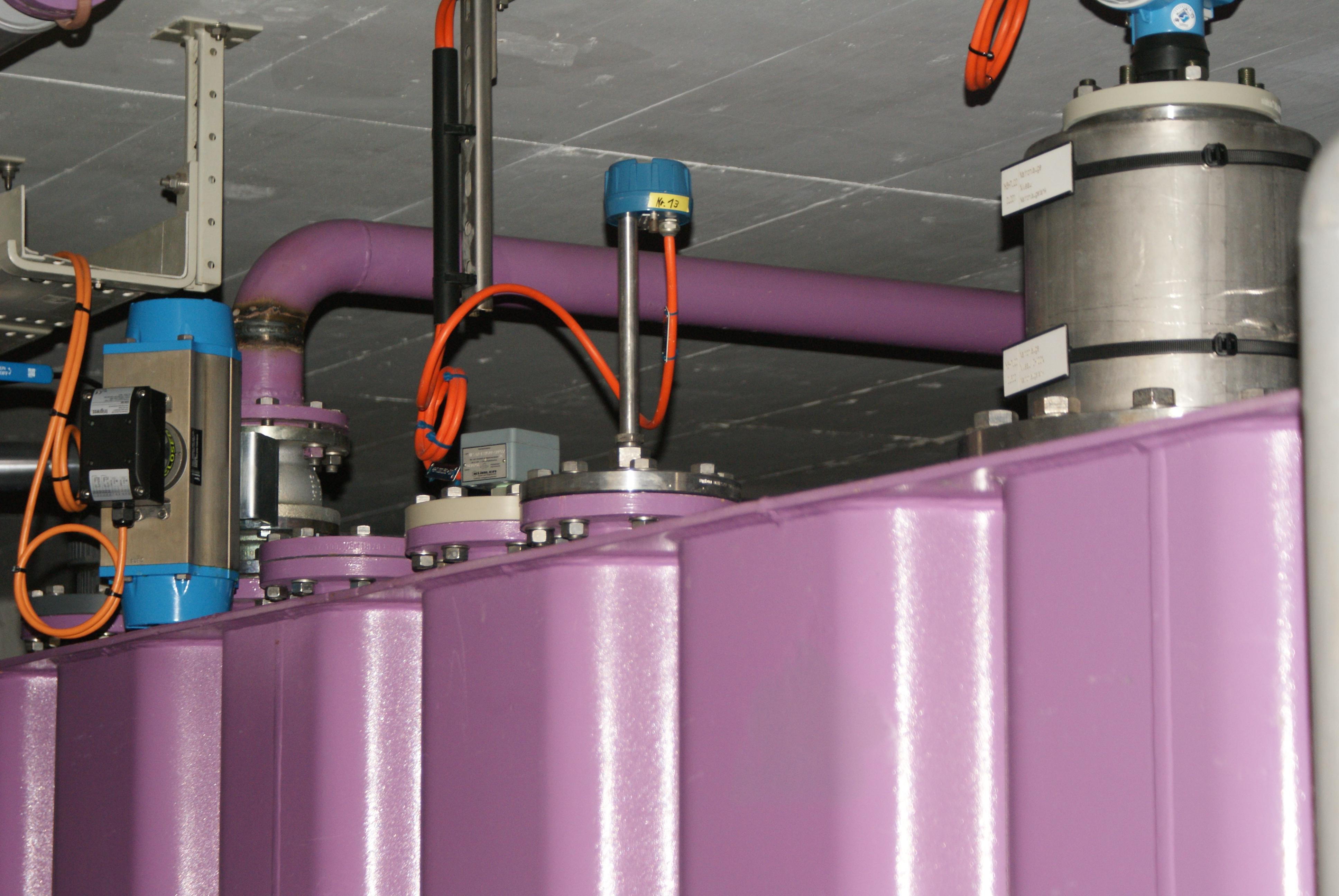 Tank in Chemieanlage