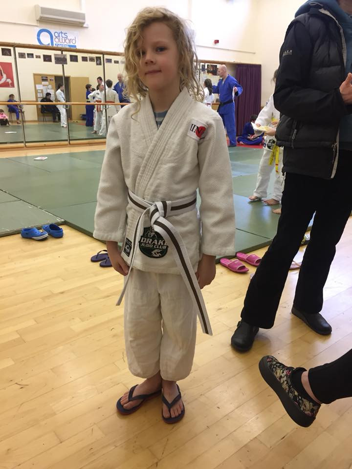 Angus is now our highest graded SHO with his Brown Belt
