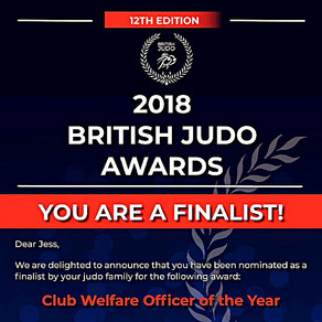 DJC Welfare Officer Jessica Frise is a finalist  at the BJA Awards!