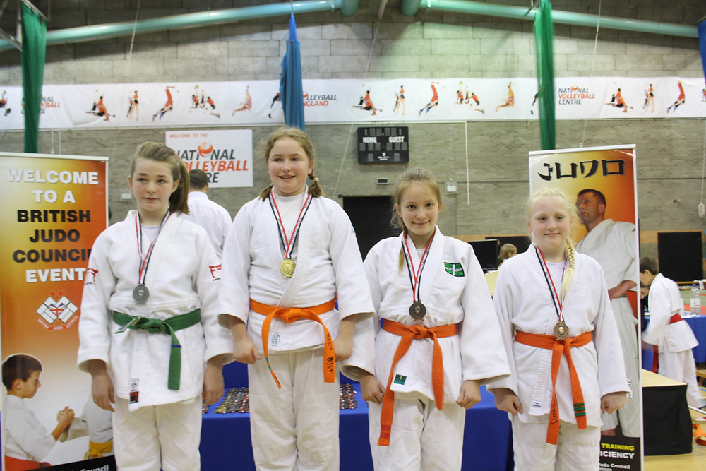 Alanna with her Bronze medal
