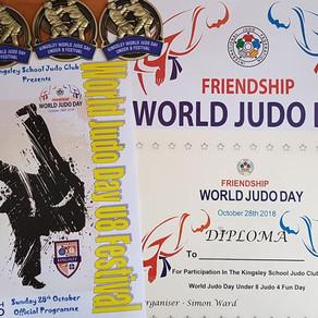 DJC @ Kingsley School Judo Club Under 8  Festival 4 Fun for World Judo Day