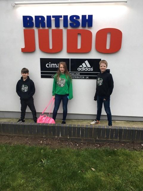 At the home of British Judo