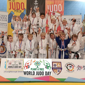 DJC @ Kingsley's World Judo Day (Under 8's Festival)