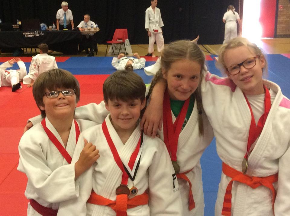 Our four junior competitiors