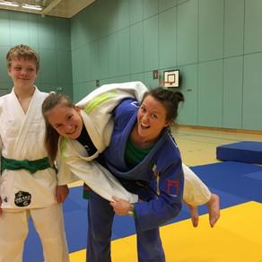Irish Judo Star Megan Fletcher at Drake Judo Club