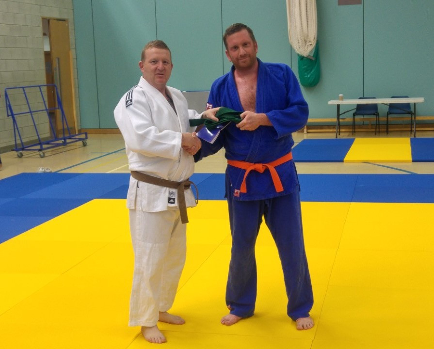 Our newest green belt