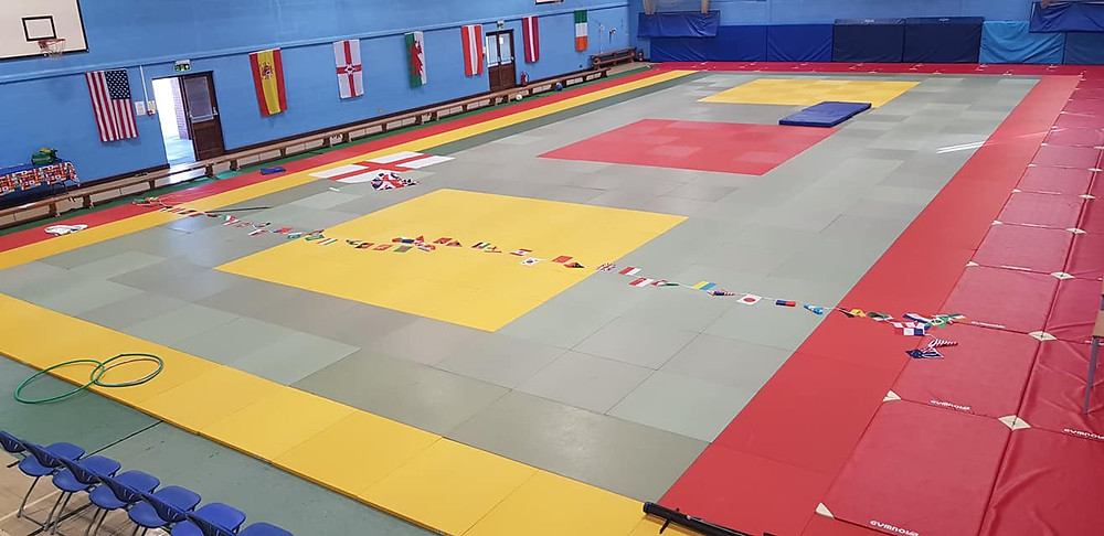 The Mat area