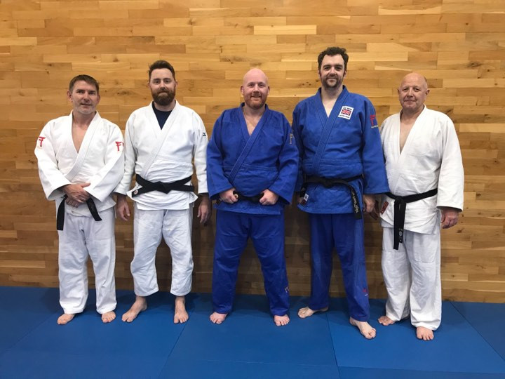 DJC coaches with Jeremy the Kata Coach