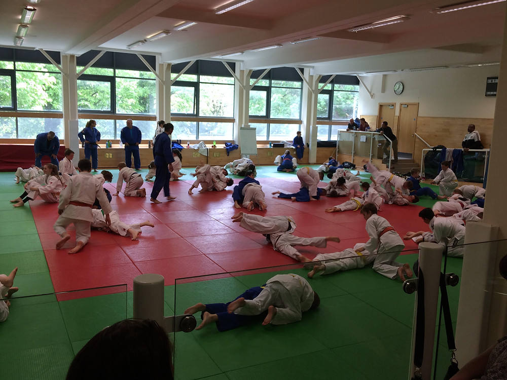Groundwork randori with the Welsh Squad