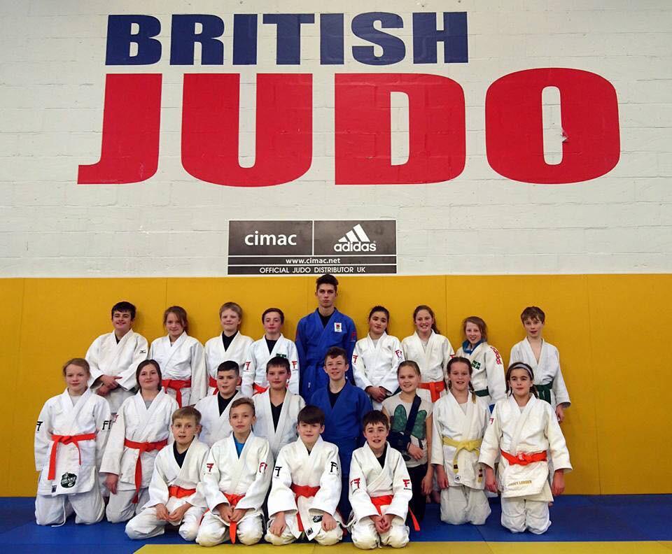 Judoka from Devon, including Drake, South Brent and Kingsley School