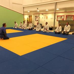 First Class of Senior Beginners Course