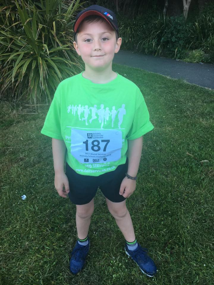 Cafan was one of many of our juniors who took part in the schools challenge, well done to you all!