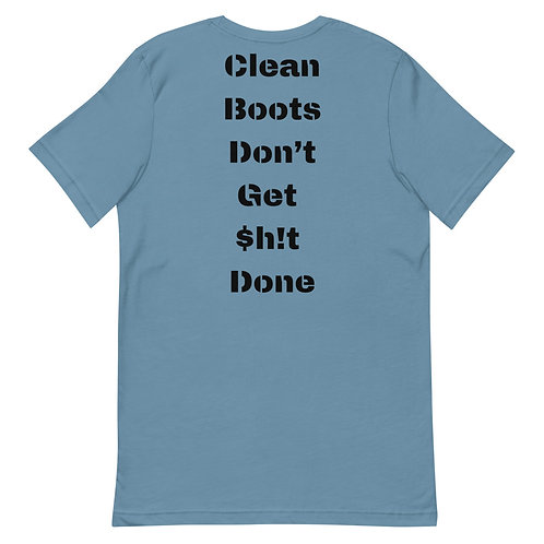 Clean Boots Short-Sleeve T-Shirt
