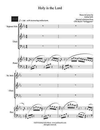 Holy is the Lord (SATB)