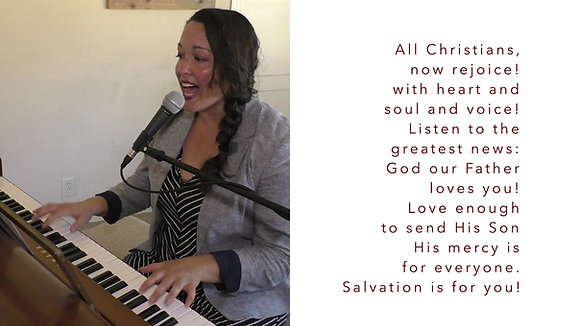 All Christians, Now Rejoice! (4/4)