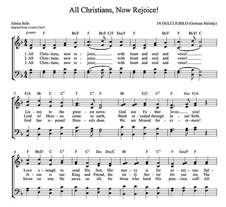 All Christians, Now Rejoice! (6/8)