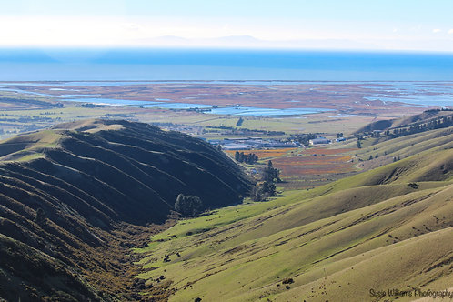 Wairau Lagoon from Mount Vernon