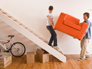 Top 5 Things to do when moving into a new home.