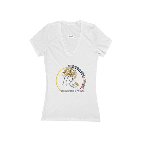 Camiseta Virgen Reina de Colombia Mujer