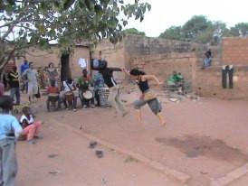 formação em Burkina Faso com Gerard Sanou