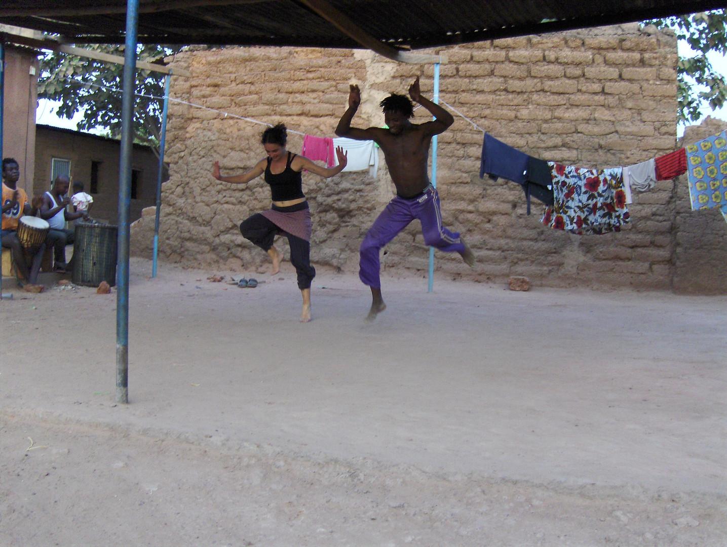 formação em Burkina Faso