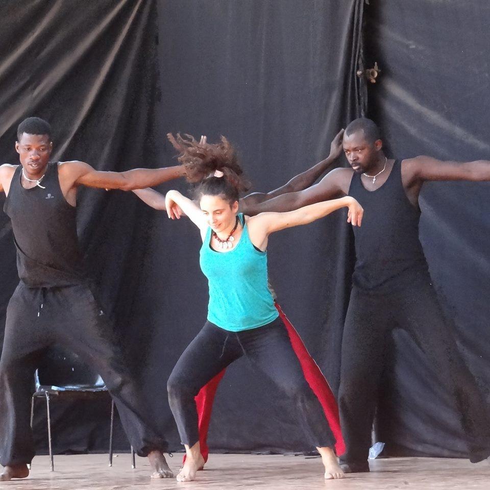 Ensaios do espectáculo Recherche em Burkina Faso